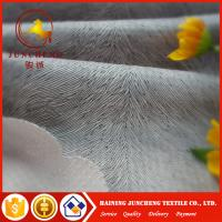 Wholesale 100%Polyester various color brunout Dubai velvet upholstery fabric for sofa from china suppliers