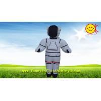 Wholesale Nylon White Advertising Inflatable Space Man With CMYK Silk Printing from china suppliers