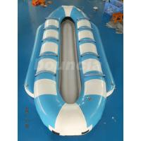 Wholesale Double Lanes Inflatable Banana Boat / Towable Tube Boat For Sea from china suppliers