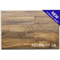 Wholesale Matt glossy V-groove Laminate Flooring 89017-3# 12mm with CE from china suppliers