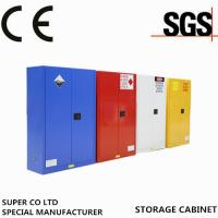 Wholesale Yellow Powder-coated Chemical Storage Cabinet 15 Gallon Self-locking For Flammable Liquid from china suppliers