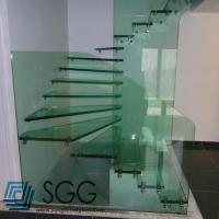 Wholesale toughened glass factory tempered glass stair 8mm 10mm 12mm 15mm 19mm from china suppliers