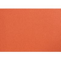 Wholesale Orange Dyed PVC Coated Polyester Fabric Waterproof For Suitcases from china suppliers