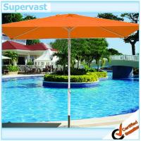 Wholesale Commercial Rectangular Steel Patio Market Umbrella , 6 Foot Market Umbrella from china suppliers