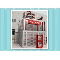 Wholesale High Speed Building Rack And Pinion Elevator Hoist With CE / Frequency Control from china suppliers