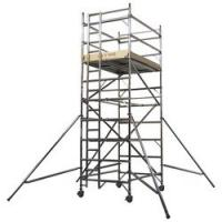 Quality Protable Folding Mobile Painting Plastering Scaffold Tower Aluminum Platform for sale
