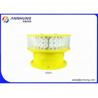 Wholesale Marking Towers Aircraft Warning Light IP Rating 65 And Red Color Temperature from china suppliers