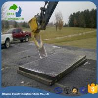 Buy cheap Heavy Duty Recycled UHMWPE Temporary Road Mat Black Color For Asia Med-East South Africa Market from wholesalers