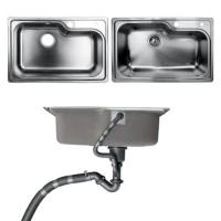 Wholesale Undermount Kitchen Bathroom Sinks With Single Bowl Brushed Metal Material from china suppliers