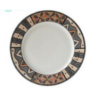 Buy cheap 27cm dinner plate with popular prices on sale  made in china for export  with low price and high quality on sale from wholesalers