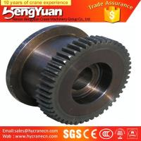 Wholesale Electric double girder forged bridge travelling crane bridge wheels from china suppliers