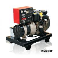 Quality Open Frame Air Cooled Small Diesel Generator Silent KM290FT for sale