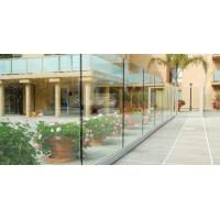 Buy cheap Frameless Tempered Glass Railing with U Shoe Channel for Terrace and Deck from wholesalers