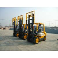 Wholesale 3Ton diesel forklift truck with Isuzu C240 diesel engine triplex 4.5m full free mast from china suppliers