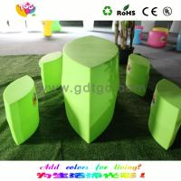 Wholesale Custom Green Cute Eye Shape Kids Chair And Stool With Colorful Options from china suppliers