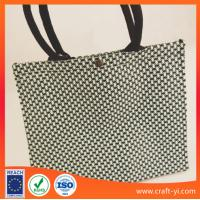 Buy cheap Textilene bag reuse Easy clean women'shandbag with High-tensile strength from wholesalers