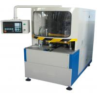 Wholesale 380V 50Hz Vinyl UPVC Window Machine , CNC Corner Cleaning Machine 100mm Width from china suppliers