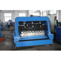 Buy cheap 3.0 Steel Thickness Silo Roll Forming Machine With 10T Hydraulic Decoiler from wholesalers