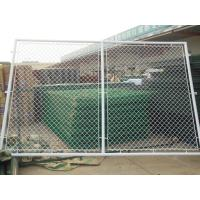 Quality 9 Gauge PVC Chain link fence mesh 50mm with 6' x 50' Size for Sport Ground uasge for sale