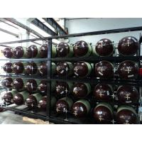 Buy cheap Type 2 Fiber Glass CNG Cascade , Compressed Natural Gas Storage Tanks 200LX 24PCS from wholesalers