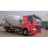 Wholesale Concrete Mixer Pump Truck , Mixer Concrete Truck With L2000 Cabin 6 By 4 Drive from china suppliers