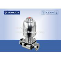 Buy cheap 316L SS Direct way Clamp Sanitary Diaphragm Valve with Stainless steel actuator Mini C-TOP from wholesalers