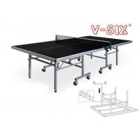 Wholesale Single Folding Outdoor Ping Pong Table 1525*2740*760 AP Board Material Moveable with Wheels from china suppliers