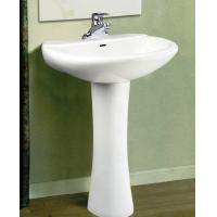 Wholesale Popular Design bathroom pedestal basin723 from china suppliers