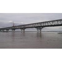 Quality High Strength Simple Steel Truss Structure Bridge with Concrete Deck for sale