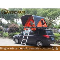 Wholesale Orange Color Rooftop Vehicle Tents Aluminum Frame With Ladder For Outdoor Camping from china suppliers