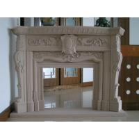 Wholesale Delicate Carved Fireplace, Indoor Fireplace Mental for Decoration from china suppliers