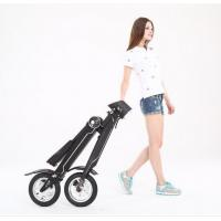 Wholesale Fashion 12 Inch Mini Electric Folding Bike Alumium Alloy Frame For  Office Worker from china suppliers