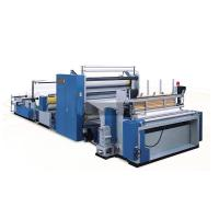 Buy cheap CE ISO Automatic Tissue Paper Making Machine Pneumatic adjustment Perforation unit from wholesalers