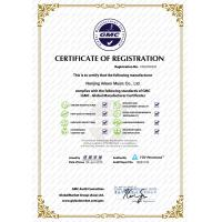 Aileen Music Co.,Ltd. Certifications