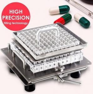 Wholesale Semi - auto Capsule Filling Machine 3 min / time CN-100M Self - develop from china suppliers