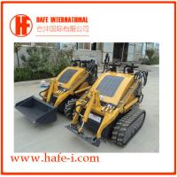 Wholesale Compact   Mini skid steer loader SSL-C300A USA Briggs&Stratton engine(23hp), bucket 0.15m3, track with bucket,with quick from china suppliers