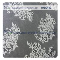Wholesale White / Black 100% Nylon Eyelash Bridal Lace Trims For Special Summer Dress from china suppliers
