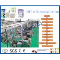 Wholesale Stainless Steel SUS 304 2000LPH SOY YOGHURT AND ICE CREAM PRODUCTION LINE from china suppliers