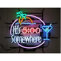Wholesale Colorful Customized 12V Tiki Bar Neon Signs With 12V 3000Ma Adapter from china suppliers