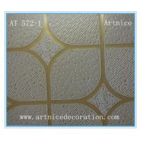 Wholesale 7MM to 12mm PVC gypsum ceiling board, gypsum ceiling board with ISO9001, SGS certificate from china suppliers