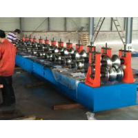 Wholesale 40 KW Highway Guardrail Roll Forming Machine With 7 Rollers Leveling Panel For W Beam Guardrail from china suppliers