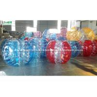 Wholesale Colorful Soccer Inflatable Bubble Ball , Adults Inflatable Bumper Ball from china suppliers