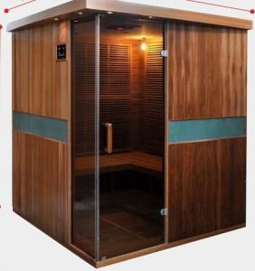 Wholesale Full Spectrum Far Infrared Sauna Cabin , Canadian Cedar Garden Dry Heat Sauna from china suppliers