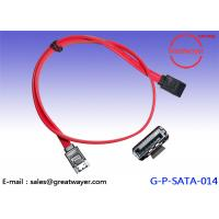 Wholesale SATA 7 Pin Male / Wire Harness Cable /  Serial Drive Assembly 30V 80C 26AWG from china suppliers