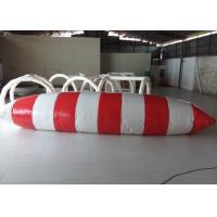Wholesale Great Fun Large Inflatable Water Toys , 0.9mm PVC Inflatable Water Blob from china suppliers