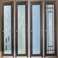 Wholesale No deformation custom size white powder coated aluminum hinged doors for balcony from china suppliers