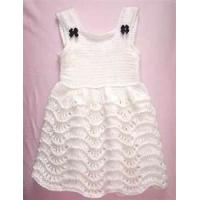 Wholesale Baby knitted dress patterns, baby party dresses for summer with unique design from china suppliers