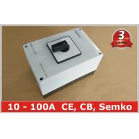 Wholesale 100A Changeover Selector Switch Waterproof Ip65 , 3 Position Rotary Switch from china suppliers