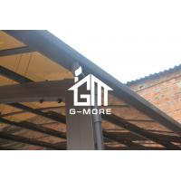 Quality 550 X 300 X 230CM Black Color Easy DIY Polycarbonate & Aluminum Carport for sale