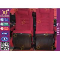 Wholesale PP Outer Back Fabric Cushion Folding Theater Seats For Library / Museum Hall from china suppliers